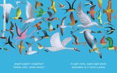 Manifesto per gli uccelli, da Manifesti di Bruno Tognolini e Gek Tessaro