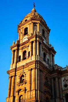 Torre de la Catedral, Málaga.
