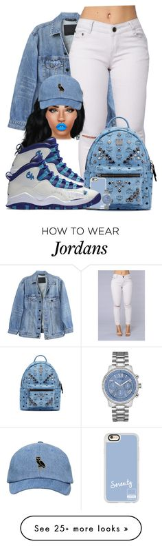 """Alpa"" by chiamaka-ikaraoha on Polyvore featuring Y/Project, Lime Crime, NIKE, MCM, Casetify and GUESS"