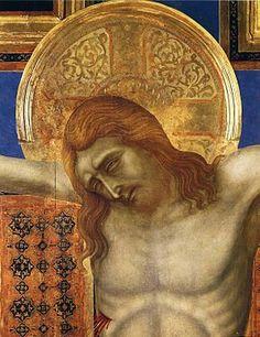 Ugolino di Nerio-Dettaglio del Crocifisso di Siena