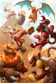 All current Fire starters final evolutions. All current Fire starte… All current end developments for fire starters. All current end developments for fire starters. Pokemon Mew, Pokemon Legal, Mega Pokemon, Pikachu Art, Pokemon Funny, Pokemon Fan Art, Pokemon Cards, Charmander, Pokemon Charizard