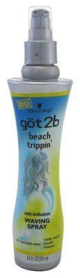 This is the best thing I've tried EVER. Fine, straight hair is full with this.  Don't use condiitoner. Shampoo, spray with this, then blow dry. Much fuller. Even my hair lady couldn't believe it.  Amazon.com: Got2b Beach Trippin Salt Infusion Waving Spray, 6.8 Fluid Ounce: Beauty