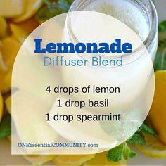 lemonade diffuser blend