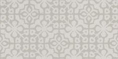 Tile  (128043) - Esta Home Wallpapers - An all over tile effect design with a geometric pattern with an antique effect, shown here in shades of grey.