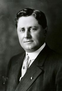 William Wrigley, Jr. (1861-1932)  American chewing gum industrialist, founder & eponym of the Wm. Wrigley Jr. Co. in 1891. Wrigley played an instrumental role in the development of Catalina Island, off the shore of California. He bought a controlling interest in the Santa Catalina Island Co. in 1919 & with the company received the island. He left his fortune to daughter Dorothy Wrigley Offield & son Philip K. Wrigley. The son continued to run the company businesses for the next 45 years