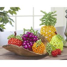 6-Piece Bubble Bead Fruit Beading Kit - Herrschners