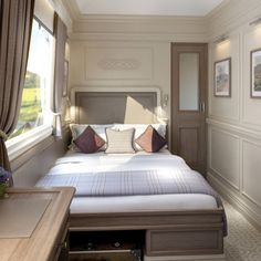 a Luxury Train Ride Through Ireland Belmond's new Grand Hibernian Train is the ultimate luxury for experiencing Ireland.Belmond's new Grand Hibernian Train is the ultimate luxury for experiencing Ireland. The Places Youll Go, Places To Go, Design Transport, Places To Travel, Travel Destinations, Train Journey, By Train, Train Car, Ireland Travel