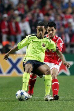 Ricardo Rocha e Ronaldinho