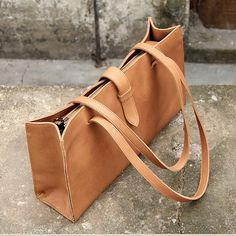 High quality Italian top grain leather bag women by OrisDesigns