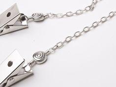 Tibetan Spiral oval link napkin chain clips