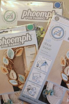 Read a product review of Phoomph on Craft Test Dummies