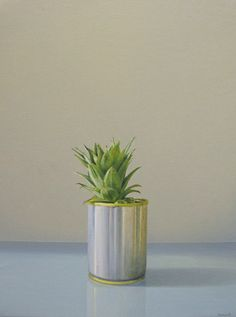 Click image to view full size painting. Australian Artists, Still Life, Planter Pots, Vase, Plants, Paintings, Paint, Painting Art, Plant