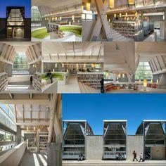 Constitución Public Library by Sebastian Irarrázaval #architecture #interiordesign #design