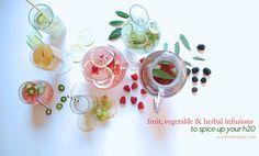 5 Fruit, Vegetable & Herbal Infusions