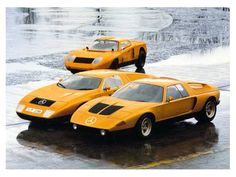 1969 MERCEDES-BENZ C111 - Wankel rotary engine development vehicles.