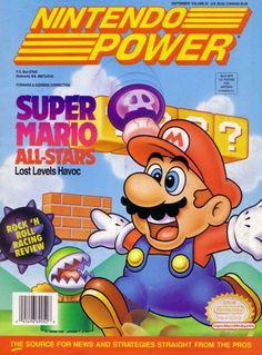 Nintendo Power- Super Mario Allstars