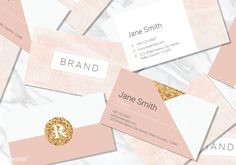 Pastel pink business card vectors collection | free image by rawpixel.com / sasi Cleaning Business Cards, Modern Business Cards, Business Card Design, Business Poster, Personalized Greeting Cards, Bussiness Card, Letterpress Business Cards, Pastel Pink, Free Image