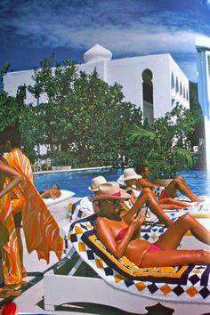 Sunbathers, Slim Aarons