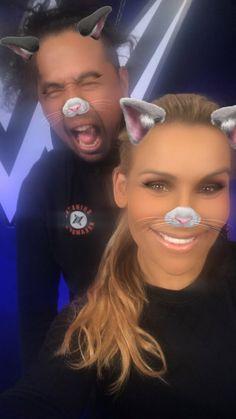 Natalya & Shinsuke Nakamura