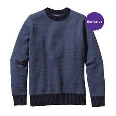Patagonia / Reclaimed Wool Crewneck Sweater