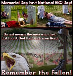 To be clear I'm not saying don't have a BBQ, hell yeah have a BBQ it's America! All I'm saying is to remember why you're having one, and those that died so that you can have it!  Follow us on Instagram, Twitter, & Facebook for more humorous, patriotic, & political crap!  Av3ng3.com  Instagram & Twitter: @av3ng3 #av3ng3 #memorialday