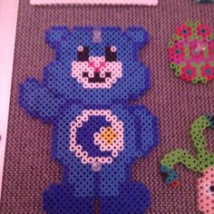 Care Bear perler beads by love2_perler