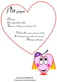 Poème fête des pères à imprimer Citations Facebook, Movie Posters, Multiplication, Images, Photos, Collection, Learn French, Fathers Day Quotes, Mothers Day Crafts