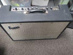 # VINTAGE Supro Tube Guitar Amp AMPLIFIER NOT SURE OF MODEL---- T 6487? please retweet