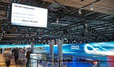 Digital Signage Softwaretechnologie von netvico für BMW-Messestand auf der IAA in Frankfurt