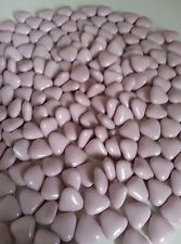150 quality italian lilac mini heart chocolate dragees /wedding favours / sweets