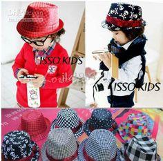 Wholesale Children's Caps & Hats - Buy MIX Color Unisex Baby Fedora Cap Kids Cowboy Hats Fedoras Kids Fedora Children Top Hat Blowers Hats, $4.57 | DHgate