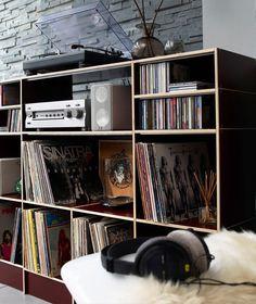LP Regal Dortmund Lp Regal, Hifi Regal, Record Shelf, Vinyl Record Storage, Hifi Rack, Hifi Turntable, Audiophile, Expedit Regal, Vinyl Room