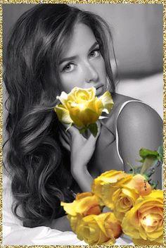 Qualquer um pode amar uma rosa... Mas é preciso um grande amor para incluir os espinhos...