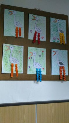 Preschool Projects, School Art Projects, Projects For Kids, Activities For Kids, Diy And Crafts, Crafts For Kids, Arts And Crafts, Arabic Alphabet Letters, Kindergarten Art