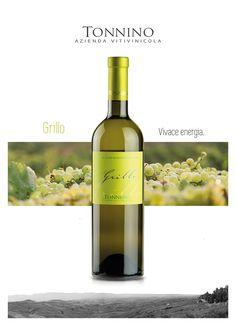 """Grillo, White Wine - I.G.P. """"Terre Siciliane"""""""