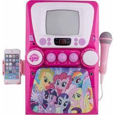 3f8a367c04d Sakar International My Little Pony The Little Pony Deluxe Karaoke with  Screen - Walmart.com