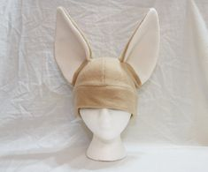 Fennec Fox Hat  Realistic by CuteKick on Etsy