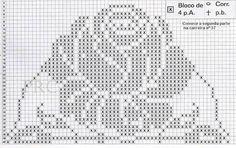Image result for gráficos de tapetes grandes de crochê