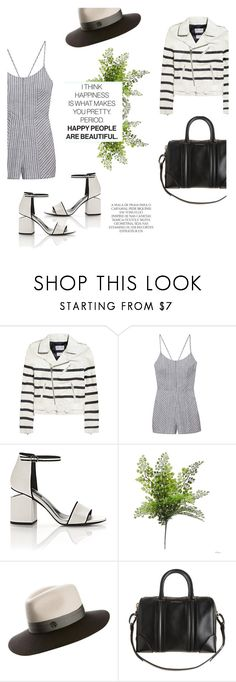 """""""Cab."""" by zeljkaa ❤ liked on Polyvore featuring Each X Other, Olive + Oak, Alexander Wang, Maison Michel, Givenchy and Magdalena"""