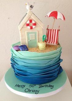 'Beach Hut' Cake «CaKeCaKeCaKe»