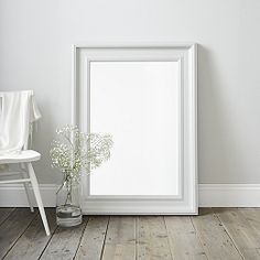 Buy Portland Mirror  - White - from The White Company