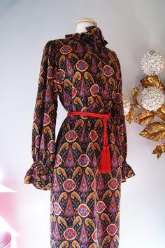 Vintage Yves Saint Laurent Dress // 1970's by xtabayvintage, $198.00