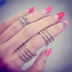 love this double ring