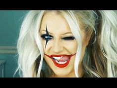Last Minute Halloween Makeup | Harley Quinn Inspired