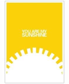 The Sunshine Poster als Poster von And I Love You She Said