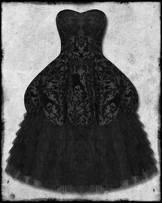 Hell Bunny Lavintage Black Goth Steampunk Vtg Victorian