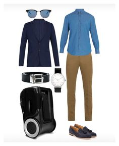 """Clean & Simple"" by g-ro ❤ liked on Polyvore featuring Paul Smith, Brunello Cucinelli, Burberry, Yves Saint Laurent, Myku, Loake, men's fashion and menswear"