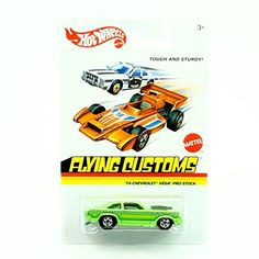 Hot Wheels 2013 Flying Customs '74 Chevrolet Vega Pro Stock 1:64 Scale:   '74 CHEVROLET VEGA PRO STOCK (GREEN) * Flying Customs * 2013 Release of the 1974 Classic Series - 1:64 Scale Throw Back HOT WHEELS Die-Cast Vehicle. Get your groove on with Flying Customs. These stylin' rides are a Hot Wheels Salute to the past with retro decos and wide-tracking fat blackwall tires. This new assortment will bring collectors back in time - to 1974 when Mattel revamped the entire Hot Wheels line wi...