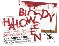 9 best halloween invitations images on pinterest invitation design