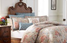 Win a bedroom makeover for spring! Enter for a chance to win a Biltmore-inspired luxurious bedding collection now through May 30, 2015.